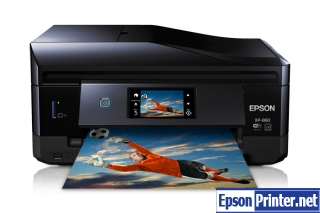 How to reset Epson XP-860 printer