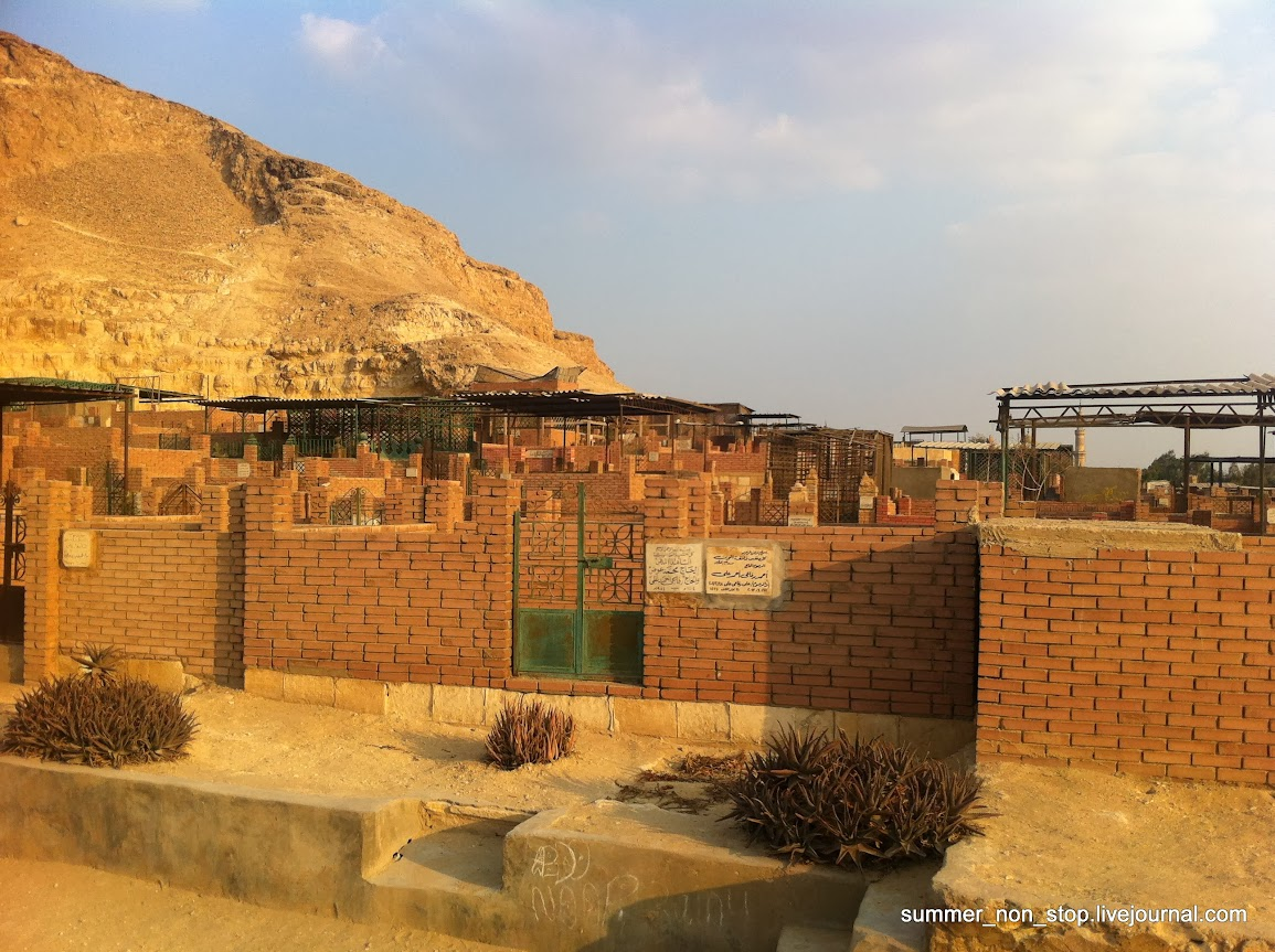 кладбище в Египте