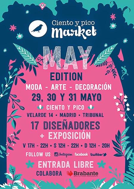 Ciento y Pico Market 'May edition' los días 29, 30 y 31 de Mayo