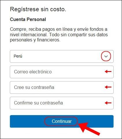 Abrir mi cuenta Paypal - 553