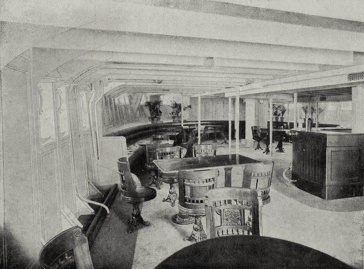 41-Vapor ARGENTINA. Salon Bar de 3ª Clase.Libro de Informacion para el Pasajero. CTE. 1931-1932.jpg