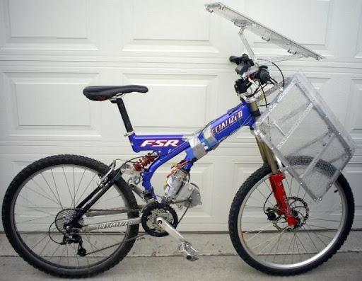 Una Bicicleta Solar Bastante Fea
