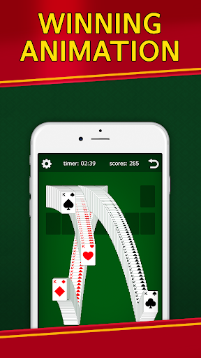 Classic Solitaire Klondike - No Ads! Totally Free! Screenshots 4