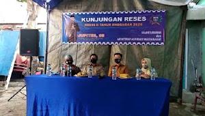 Ahmad Lukman Jupiter, DPRD DKI Jakarta Barat, Gelar Kunjungan Reses Kedua Anggaran 2020