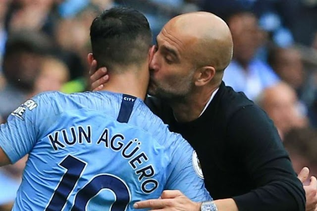 Pep Guardiola Confirms Sergio Aguero Is Moving To Barcelona