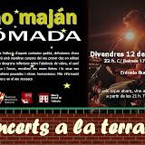 Concierto de Kino Maján en la terraza del Alberg Ciutat de Valencia
