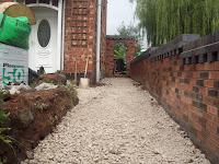 landcaping block paving sub base
