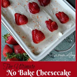 The Ultimate No Bake Cheesecake Recipe