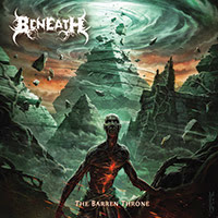 Beneath - The Barren Throne recenzja okładka review cover