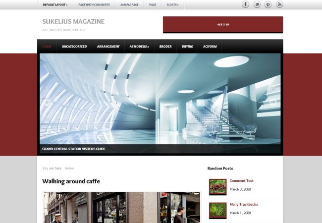 Interior Design Magazine Wordpress Theme
