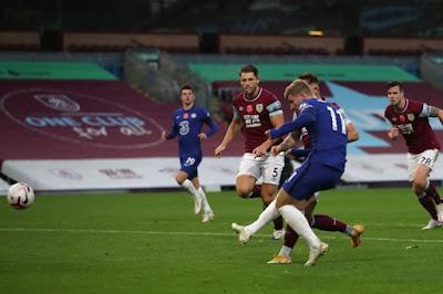 ملخص واهداف مباراة تشيلسي وبيرنلي (3-0) الدوري الانجليزي