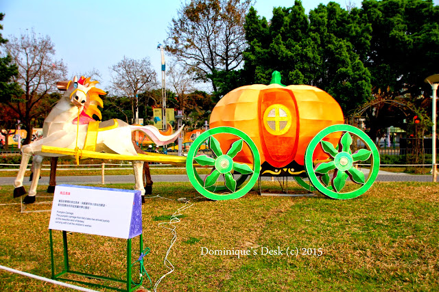 A pumpkin carriage