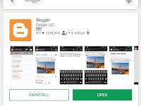 Belajar Nge-Blog Melalui Aplikasi Blogger, Mudah Di Gunakan