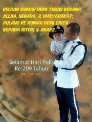 Selamat Hari Polis Ke 209 Tahun