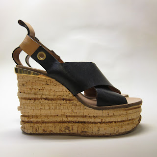 Chloé Cork Wedges