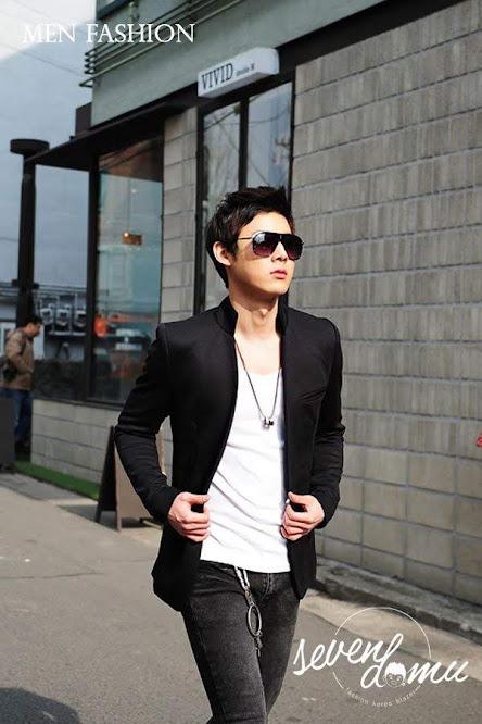 seven domu blazer korea black style bk02 3