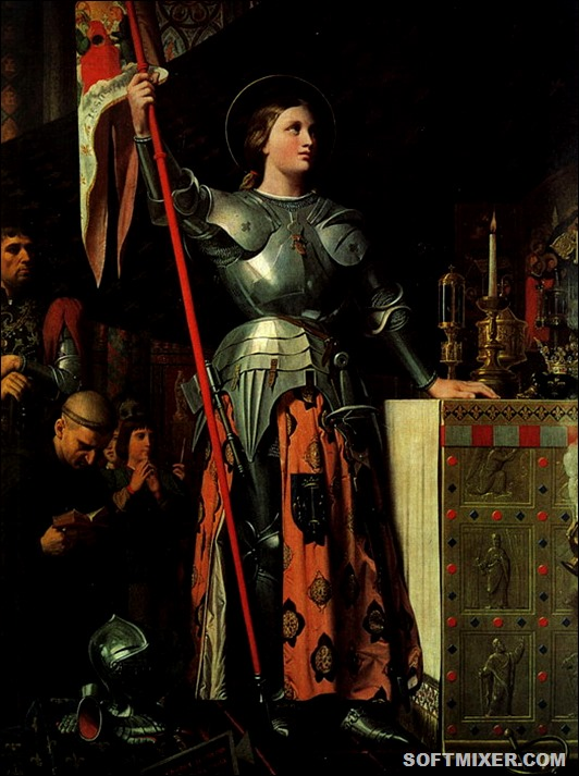 Jean-Auguste-Dominique-Ingres-Joan-of-Arc-at-the-Coronation-of-King-Charles-VII-17th-July-1429