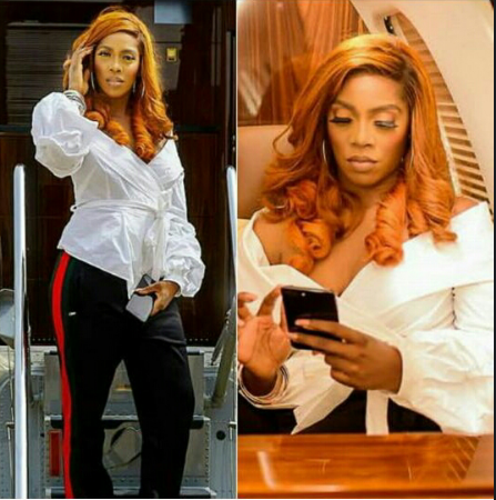 Tiwa Savage Chops Off Her Hair And She Looks Better Than Ever with a new Beautiful looks