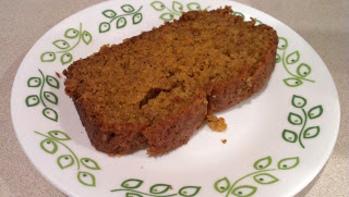 Enjoy yummy pumpkin bread!