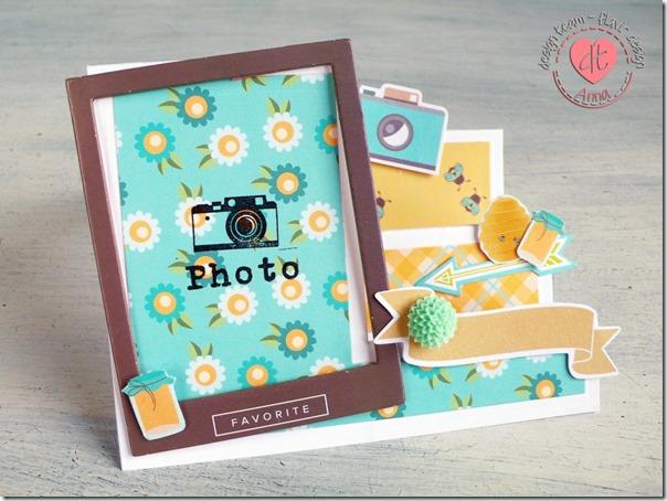 Biglietto Portafoto 3D - Side Step card