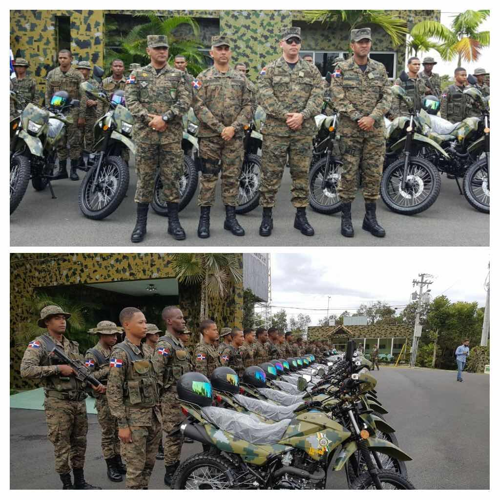 LA CARRETERA INTERNACIONAL ES REFORZADA CON PATRULLAJE MOTORIZADO DE UNIDADES DEL EJÉRCITO DE REPÚBLICA DOMINICANA.