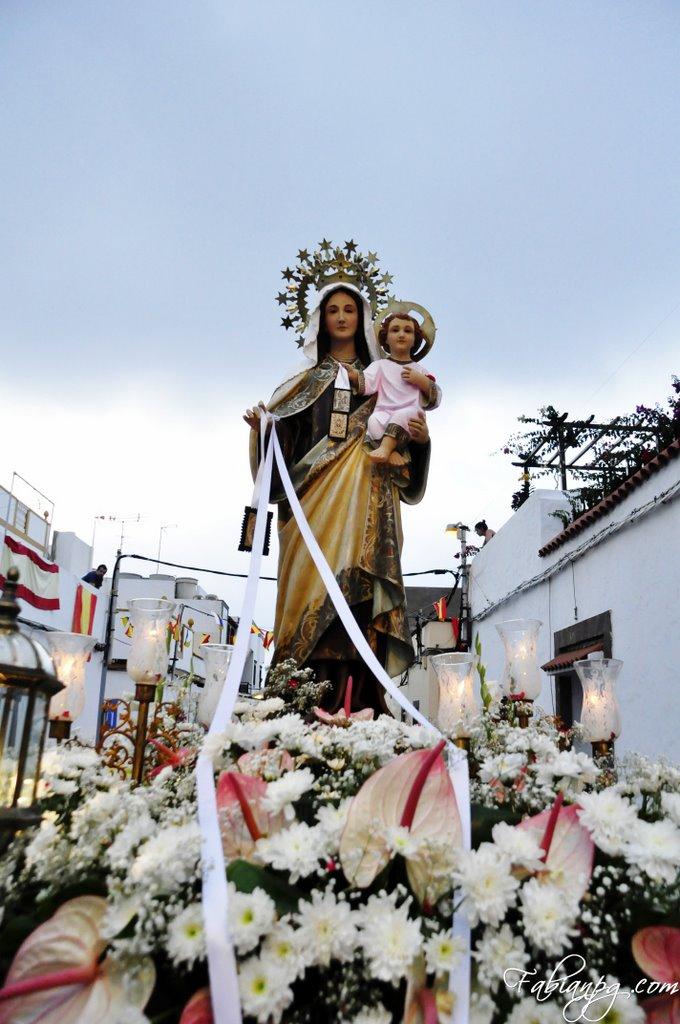 Procesión de Nuestra Señora del Carmen
