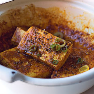Roasted Tofu With African Spices