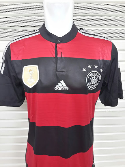 Jersey Jerman Away Bintang 4 World Cup 2014 Champion