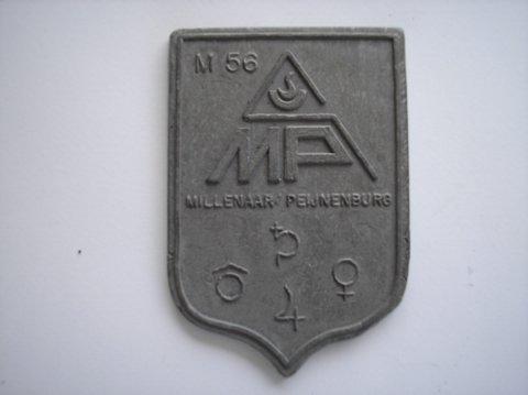 Naam: Millenaar/PeijnenburgPlaats: AmsterdamJaartal: 1980bijz: M56