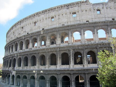The Colosseum. From My 7 Favourite Ancient Sites in Rome