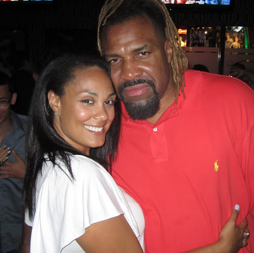 Shannon Briggs with sweet, Wife Alana Wilson