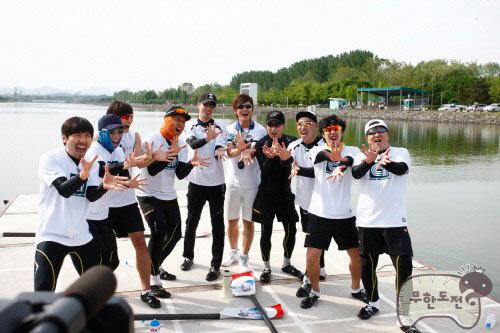 Jo In Sung เข้าร่วมแข่งพายเรือตอนพิเศษใน Infinity Challenge