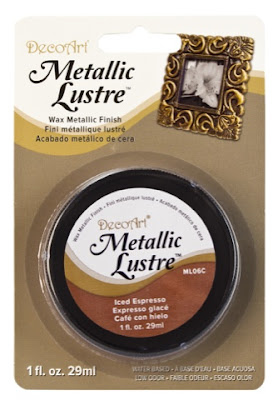 DecoArt's Metallic lustre in Iced Espresso