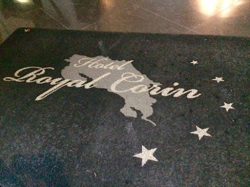 Hotel Royal Corin welcome mat