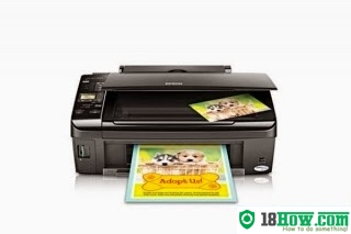 How to reset flashing lights for Epson Stylus NX430 printer