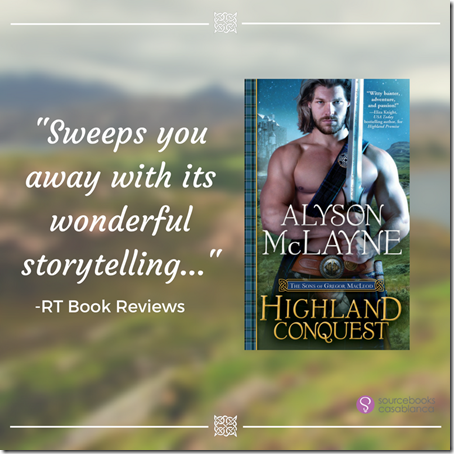 Spotlight: Highland Conquest by Alyson McLayne | About That Story