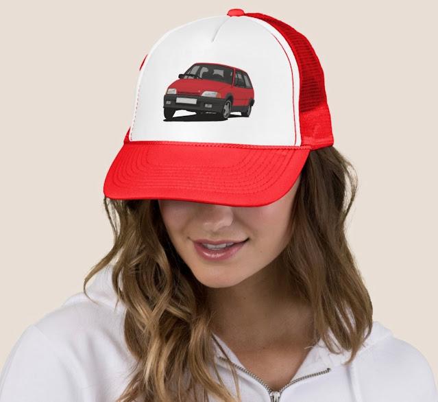 Citroën AX GT trucker hats - cap