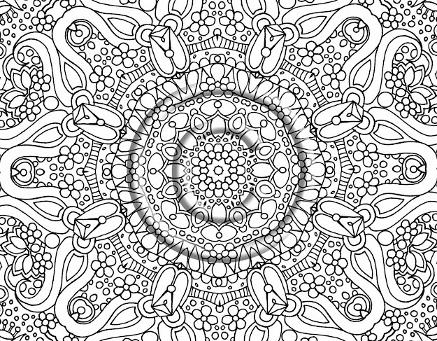 Printable Difficult Coloring Pages With Hard Coloring Pages