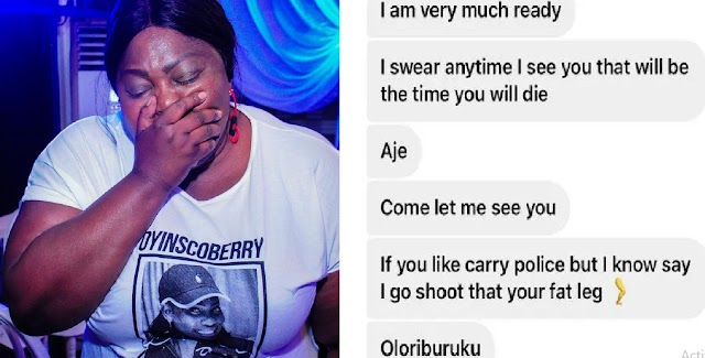 'Please help me' Actress Eniola Badmus cries out over death threats