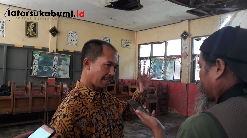 Bangunan SD di Sukabumi Rusak Parah, Tidak Ada Kejelasan Untuk Rehab