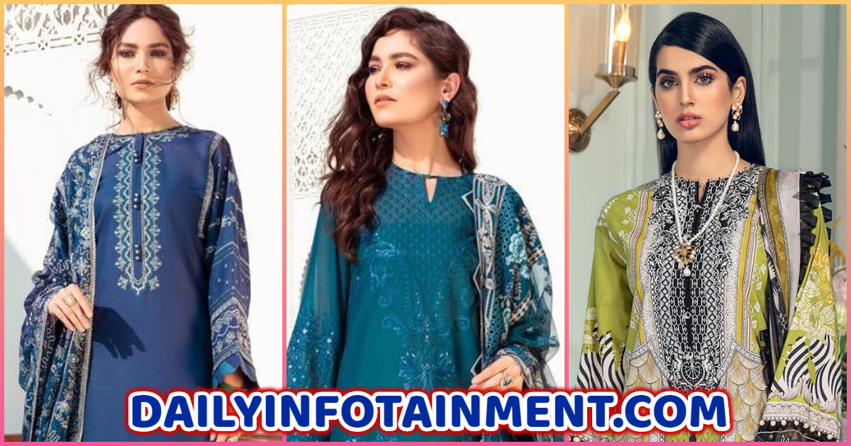 "ANAYA by Kiran Chaudhry Luxury Lawn Collection ""L'amour de Vie"""