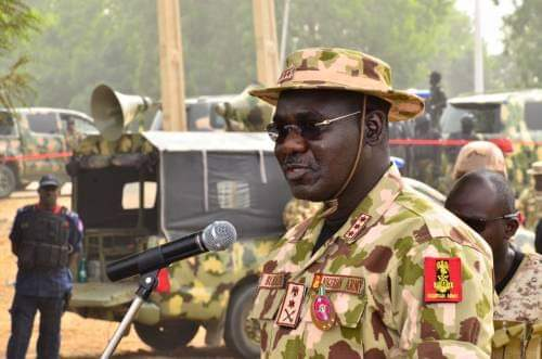 Nigerians Will Be Chocked If We Expose Those Behind Insecurty-Gen Buratai