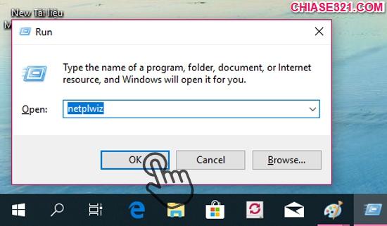 bật tự động đăng nhập Windows 10
