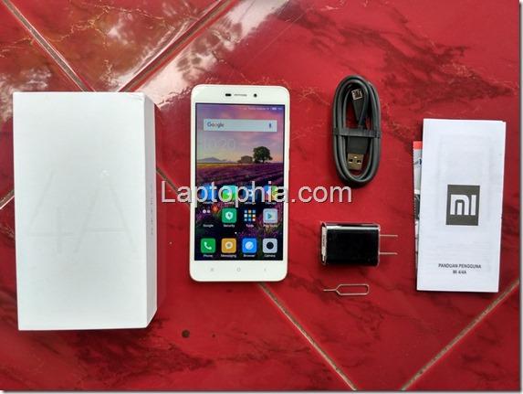 Paket Pembelian Xiaomi Redmi 4A