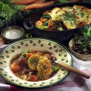 Gemüse-Fleisch-Schmortopf