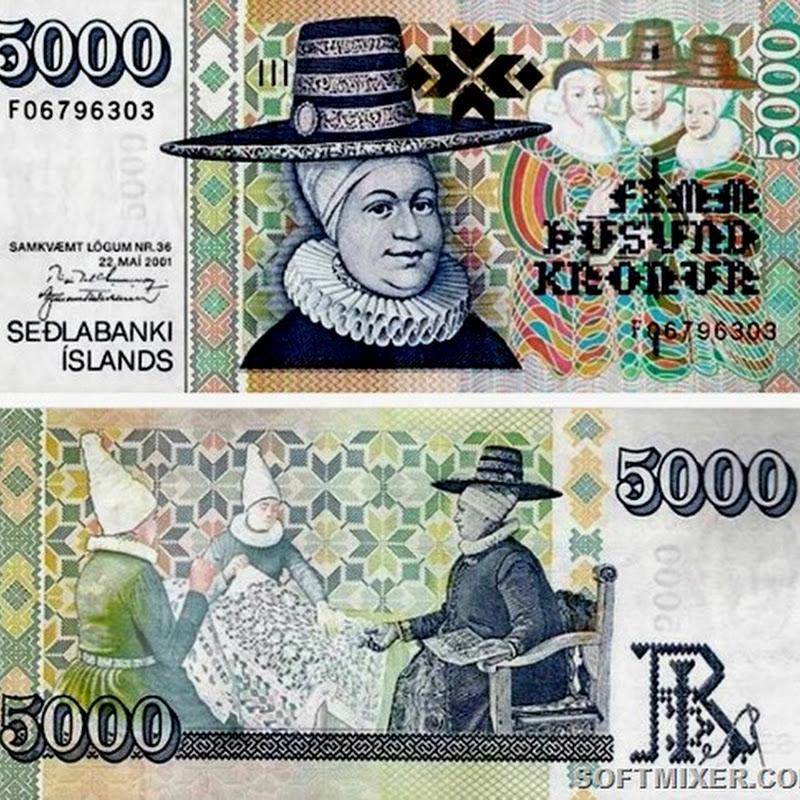 Неожиданные личности на мировых банкнотах