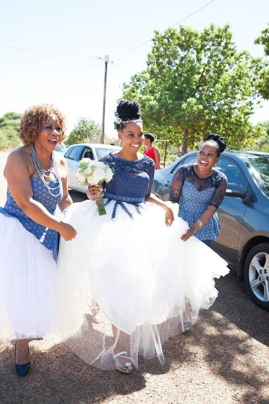 Shweshwe Wedding Dresses South Africa