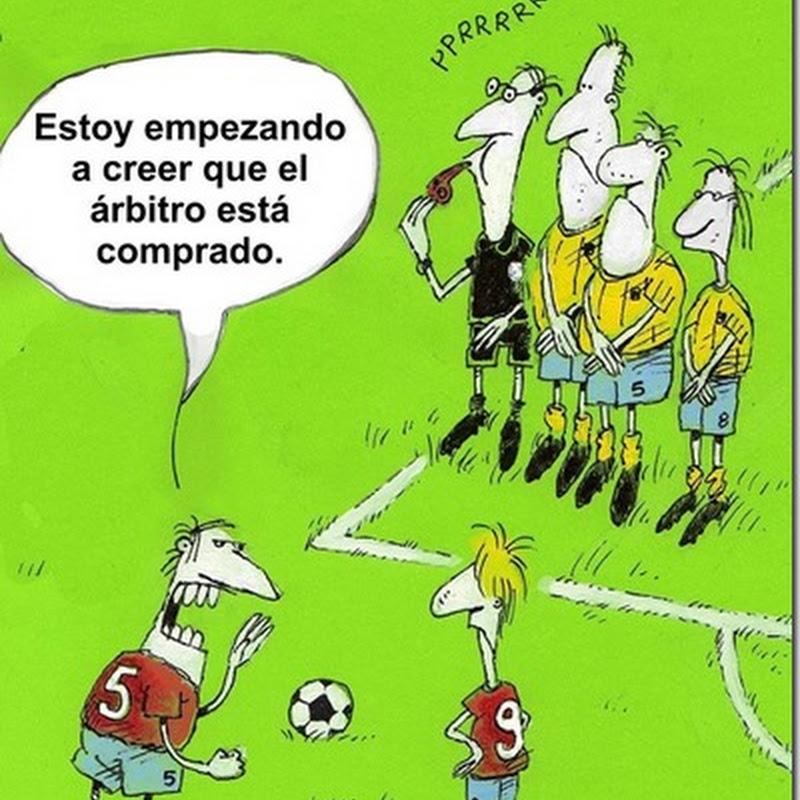 humor Fútbol arbitro comprado
