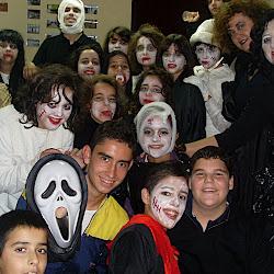 Halloween en la Casade la Juventud poblanchina