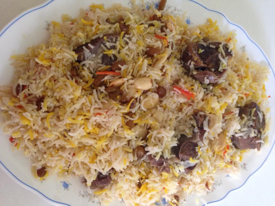 Mutton Afghani Pualwo
